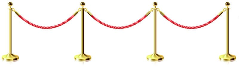 red-rope-divider